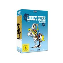 Lucky Luke Classics - Vol. 5, Folge 43-52 (Remastered Widescreen Collection inkl. Comic im Pocket-Size-Format) [3 DVDs]