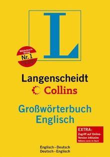Langenscheidt Collins Großwörterbuch Englisch: Englisch-Deutsch/Deutsch-Englisch: Englisch - Deutsch / Deutsch - Englisch. Rund 350 000 Stichwörter ... (Langenscheidt Großwörterbücher)