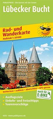 Lübecker Bucht: Rad- und Wanderkarte mit Ausflugszielen, Einkehr- & Freizeittipps, wetterfest, reißfest, abwischbar, GPS-genau. 1:50000 (Rad- und Wanderkarte/RuWK)