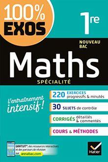 Maths spécialité 1re Nouveau Bac