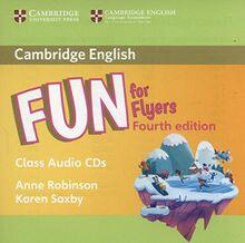 Robinson, A: Fun for Flyers Class Audio CDs (2)