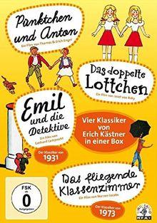 Vier Klassiker von Erich Kästner in einer Box [4 DVDs]