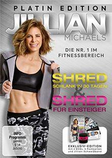 """Jillian Michaels Platin Edition mit """"Shred"""" und """"Shred für Einsteiger""""(Exklusiv bei Amazon.de) LTD [Limited Edition] [2 DVDs]"""