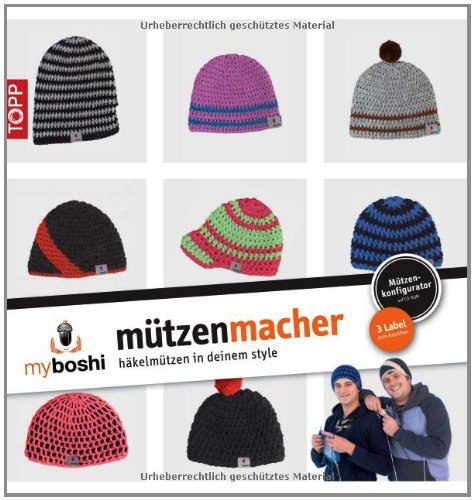 Myboshi Mützenmacher Mützen In Deinem Style Selber Häkeln De
