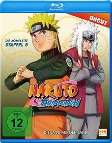 Naruto Shippuden - Staffel 5: Die Jagd auf den Sanbi - Uncut [Blu-ray]