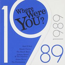 Where Were You: 1989