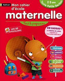 MON CAHIER ECOLE MATERNELLE (MON CAHIER D'ECOLE MATERNELLE)