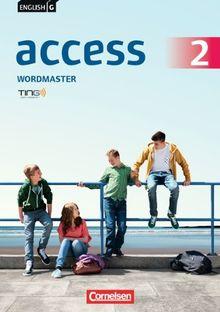 English G Access - Allgemeine Ausgabe: Band 2: 6. Schuljahr - Wordmaster: TING-fähiges Vokabelübungsheft