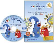 ABC der Tiere, Neubearbeitung : 1. Schuljahr, Lesen- und Schreibenlernen mit Sil und Ben, CD-ROM m. Video Klassenversion Einzellizenz mit Ergebnisspeich
