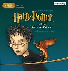 Harry Potter und der Orden des Phönix (Harry Potter, gelesen von Rufus Beck, Band 5)