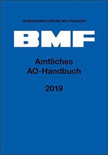 Amtliches AO-Handbuch 2019