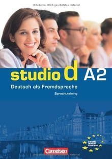 studio d - Grundstufe: A2: Gesamtband - Sprachtraining: Einheit 1-12. Europäischer Referenzrahmen: A2