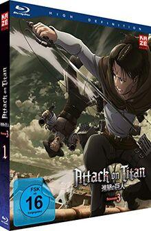 Attack on Titan - Staffel 3 - Vol.1 - [Blu-ray]