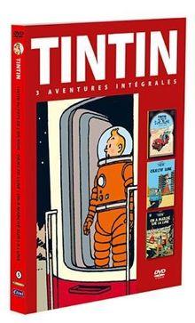 Coffret tintin, vol. 5: Objectif lune / On a marché sur la lune / Tintin au pays de l'or noir [FR Import]