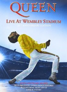 Queen - Live at Wembley Stadium (Limited Edition, 2 Discs, 2 Audio-CD) [Deluxe Edition]