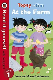 Topsy and Tim: At the Farm - Read it yourself with Ladybird: Level 1