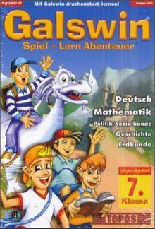 Galswin 2001 7. Klasse Deutsch, Mathematik, Politik/Sozialkunde, Geschichte, Erdkunde, 1 CD-ROM in Kst.-Box