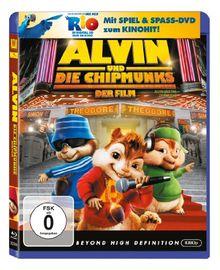 Alvin und die Chipmunks - Der Film (+ Rio Activity Disc) [Blu-ray]