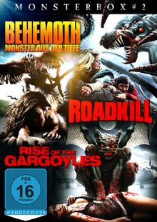 Monsterbox: Behemoth - Das Monster aus der Tiefe / Roadkill / Rise of the Gargoyles [3 DVDs]