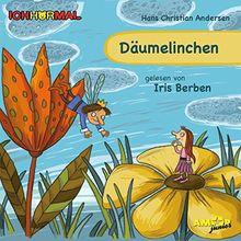 Däumelinchen gelesen von Iris Berben - ICHHöRMAL: CD mit Musik und Geräuschen, plus 16 S. Ausmalheft