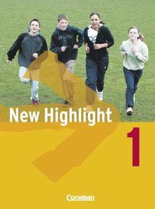 New Highlight - Allgemeine Ausgabe: Band 1: 5. Schuljahr - Schülerbuch: Festeinband