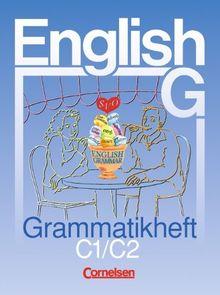 English G, Ausgabe C, Grammatikheft: Für Schulen mit Englisch als 2. Fremdsprache