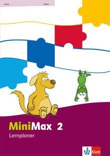 MiniMax / Lernplaner mit 32 Teste-dich-selbst-Seiten 2. Schuljahr