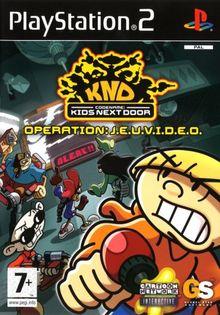 Kids next door operation J.E.U.V.I.D.E.O. - PS2 - PAL NEW