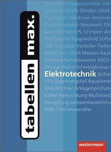 tabellen max. Elektrotechnik: 1. Auflage, 2012