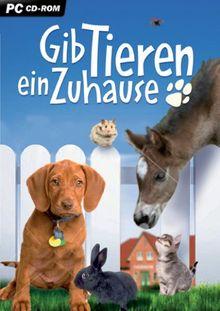 Gib Tieren ein Zuhause