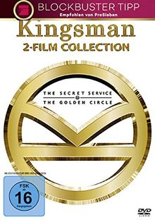 Kingsman - 2-Film-Collection [2 DVDs]