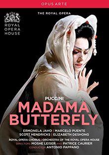 Puccini: Madama Butterfly [The Royal Opera; Ermonela Jaho; Marcelo Puente; Carlo Bosi; Antonio Pappano] [Opus Arte: OA1268D]