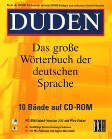 Duden - Das große Wörterbuch der deutschen Sprache