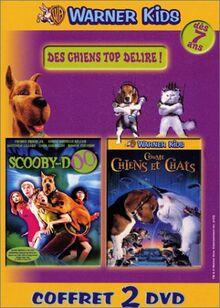 Coffret Des chiens top délire ! 2 DVD : Scooby-Doo, Le Film / Comme chiens et chats [FR Import]