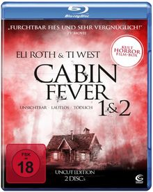 Cabin Fever 1 & 2 (UNCUT Edition) (2 Blu-rays)
