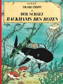 Tim und Struppi, Carlsen Comics, Neuausgabe, Bd.11, Der Schatz Rackhams des Roten