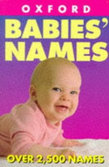 Naming Your Baby (Oxford Minireference)