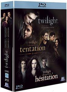 Coffret twilight : fascination : tentation ; hésitation [Blu-ray]