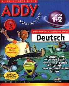 ADDY: Deutsch Klasse 1 und 2. 3 CD- ROMs für Windows 95