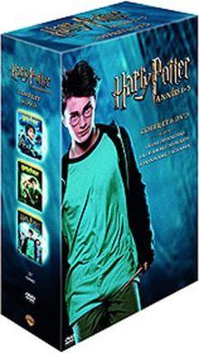 Coffret Harry Potter 6 DVD : Harry Potter à l'Ecole des Sorciers / Harry Potter et la chambre des secrets / Harry Potter et le prisonnier d'Azkaban [FR Import]