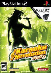 Karaoke Revolution Party PlayStation 2