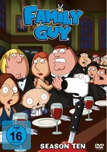 Family Guy - Season 10 [3 DVDs]