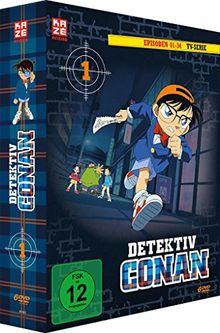 Detective Conan - Episoden 01-34 [6 DVDs]