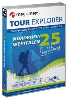 Tour Explorer Nordrhein-Westfalen, 2 DVD-ROMs