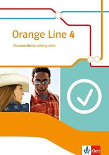 Orange Line / Ausgabe 2014: Orange Line / Klassenarbeitstraining aktiv mit Audio-CD und Multimedia-CD 8. Schuljahr: Ausgabe 2014