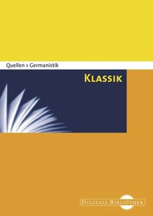 Quellen Germanistik - Klassik