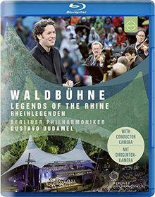 Waldbühne 2017: Rheinlegenden- Berliner Philharmoniker/Gustavo Dudamel [Blu-ray]