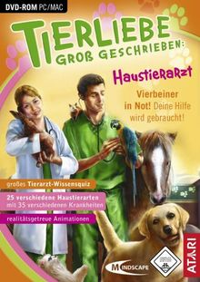 Tierliebe groß geschrieben: Haustierarzt (DVD-ROM)