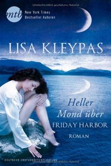 Heller Mond über Friday Harbor