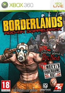 """Borderlands - Add-On Doublepack: """"The Zombie Island of Dr. Ned"""" + """"Mad Moxxi's Underdome Riot"""" (PEGI, uncut)"""